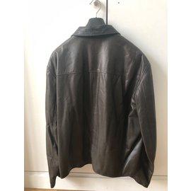 Hermès-Blazers Jackets-Brown