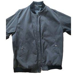Prada-Blazers Jackets-Khaki