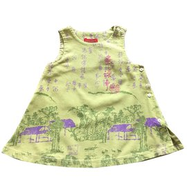 Kenzo-Dresses-Green