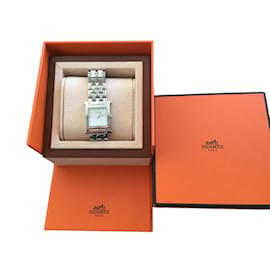 Hermès-Heure H-Silvery