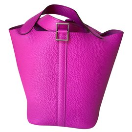 Hermès-Picotin Lock 18cm Tpm-Rose