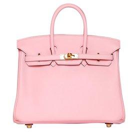 Hermès-Birkin 25 rose sakura-Rose