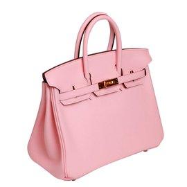 Hermès-Birkin 25 Sakura Pink-Pink