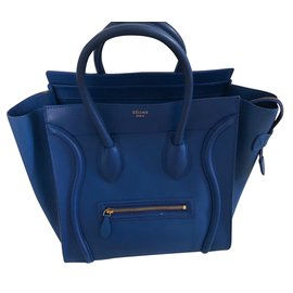 Céline-Luggage grand model-Bleu