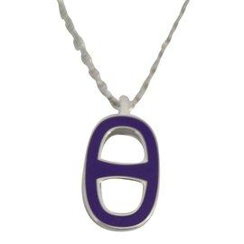 Hermès-necklace-Purple