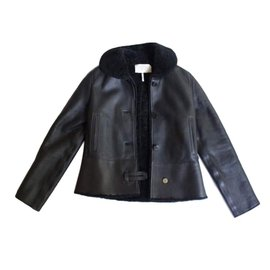 Hermès-Jackets-Black