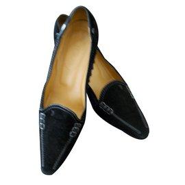 Tod's-Heels-Black
