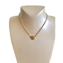 Chanel-Vintage Necklace-Golden