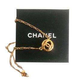Chanel-Collier vintage-Doré