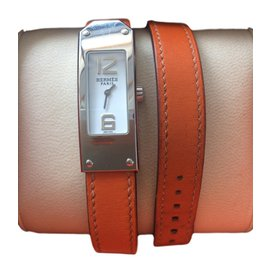 Hermès-KELLY II Watch-Orange