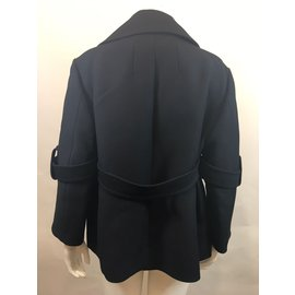 Céline-pea jacket-Black