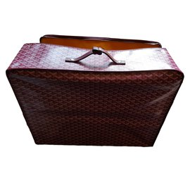 Goyard-Travel bag-Dark red