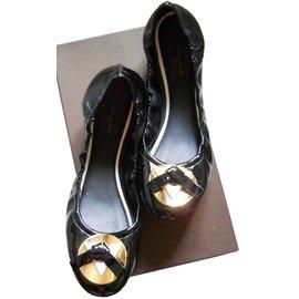 Louis Vuitton-LUCKY CHARM FLAT-Noir