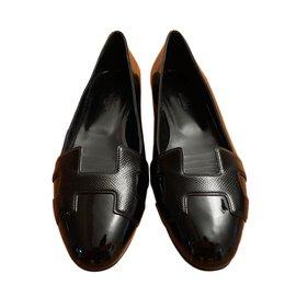 Hermès-Ballerine NICE-Noir
