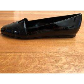 Hermès-Nice Ballet flats-Black