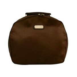 Balenciaga-Round Tote Bag-Brown