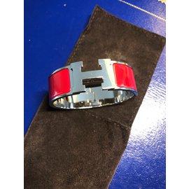 Hermès-Bracelet clic clac-Rouge