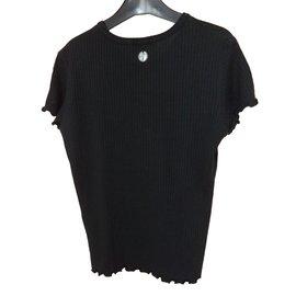 Sonia Rykiel-Tee shirt-Black