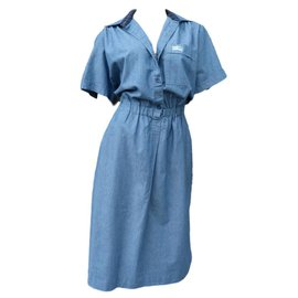 Burberry-Dress-Blue
