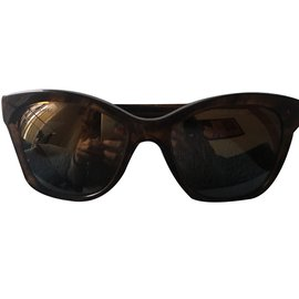 3b61079f0fd Chanel-Sunglasses-Dark brown ...