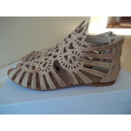 Christian Dior-Sandals-Beige