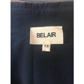 Bel Air-Top soie BEL AIR taille 3-Bleu