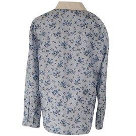 6c5bb5e1674c52 Prada-blouse-Blue Prada-blouse-Blue