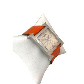 Hermès-Heure H TGM-Blanc