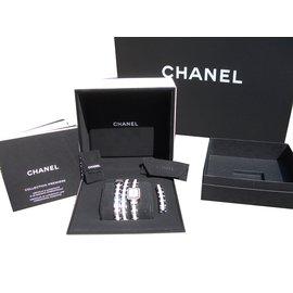 Chanel-chanel montre mini première triple tours-Blanc