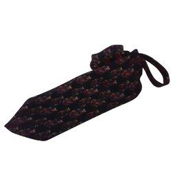 Givenchy-cravate, vintage, GIVENCHY, 100% en soie et en bon état.-Multicolore