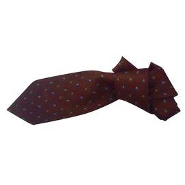 """Valentino-cravatte """"Valentino"""" en soie-Ébène"""