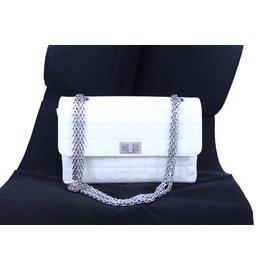 Chanel-2.55-White