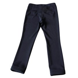 Chanel-Pants-Navy blue
