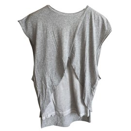 Damir Doma-Silent damir doma grey t-shirt-Grey