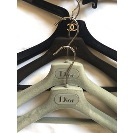 Dior-Lot de cintres de marque-Multicolore