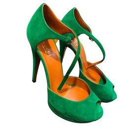 Gucci-Sandales-Vert