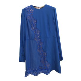 Stella Mc Cartney-Robe-Bleu
