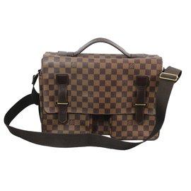 262728b9e70 Louis Vuitton-Bags Briefcases-Brown ...