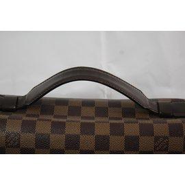 Louis Vuitton-Sac Cartable-Marron