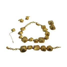 Hermès-Jewellery sets-Golden