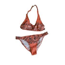 Chanel-Swimwear-Red