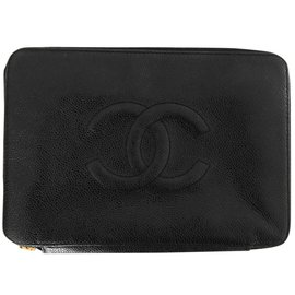 Chanel-Pouch-Black
