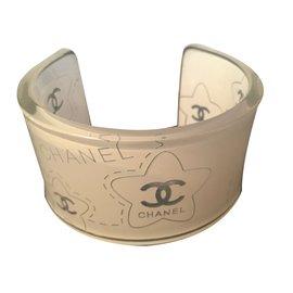Chanel-Bracelet-White