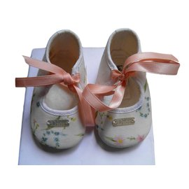 Baby Dior-Slippers-White