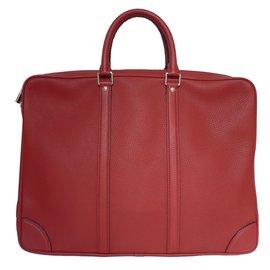 Louis Vuitton-Porte-documents-Rouge