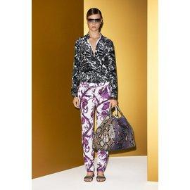 Gucci-Pantalon-Violet
