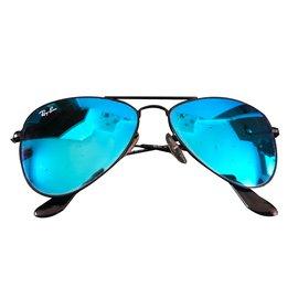 Ray-Ban-Aviator-Noir,Bleu