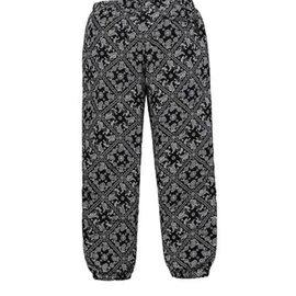 Supreme-Pantalon Supreme – Bandana Track Pant Black-Noir