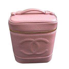 Chanel-Beauty Case-Rose