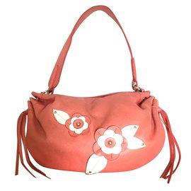 orange À Sac Rose Lancel Main qITw1z8W8